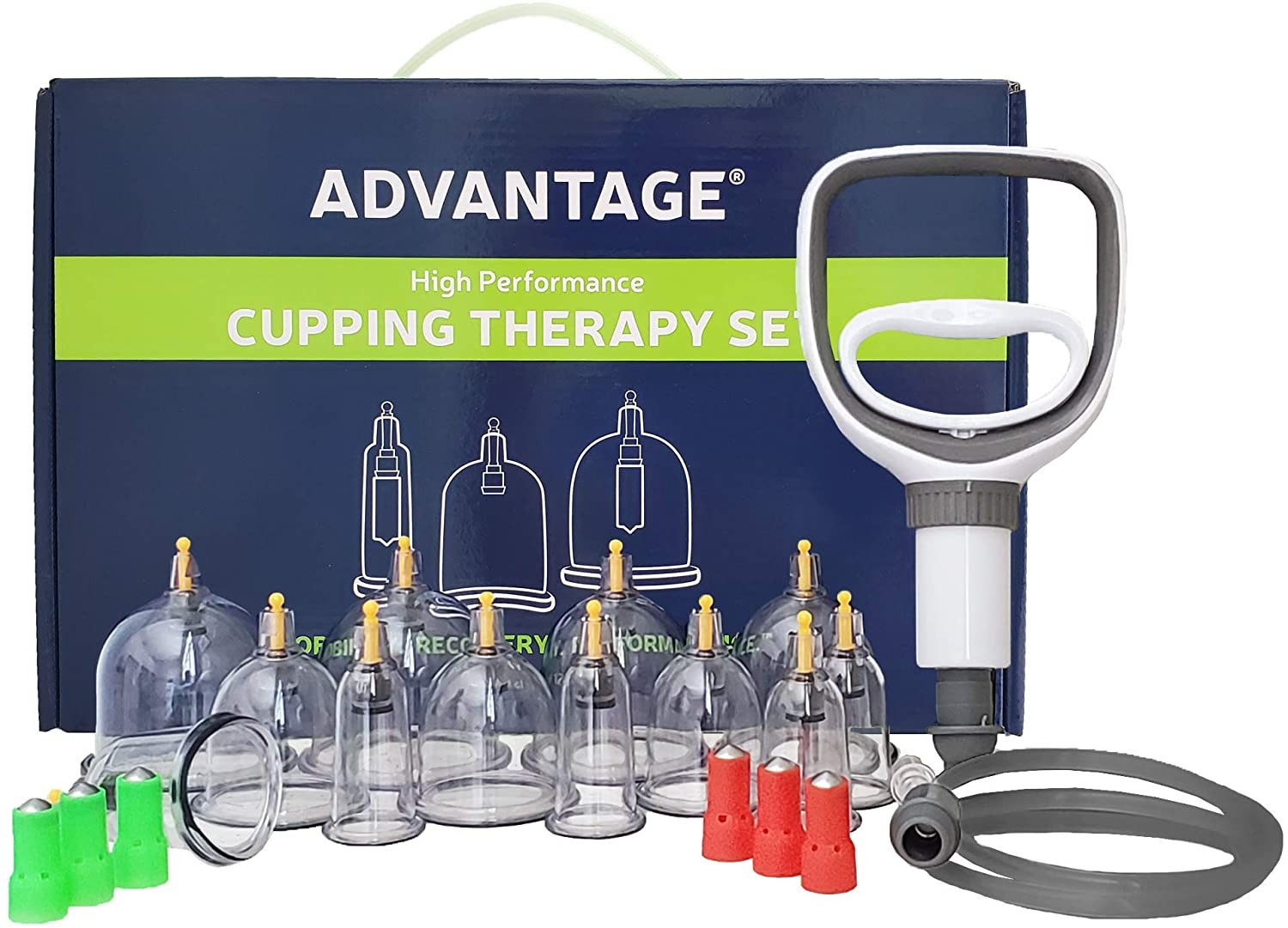 ADVANTAGE Professional Cupping Therapy Set