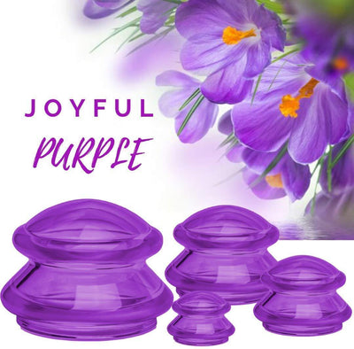 EDGE™ Cupping Set of 4 - Joyful Purple - Lure Essentials