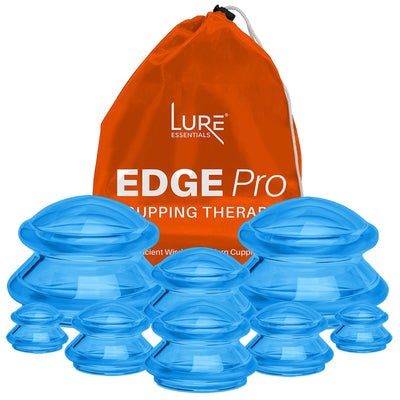 EDGE™ Cupping Pro Set of 8 - Blue - Lure Essentials