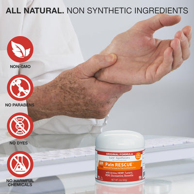 Pain Rescue Topical Analgesic - Lure Essentials