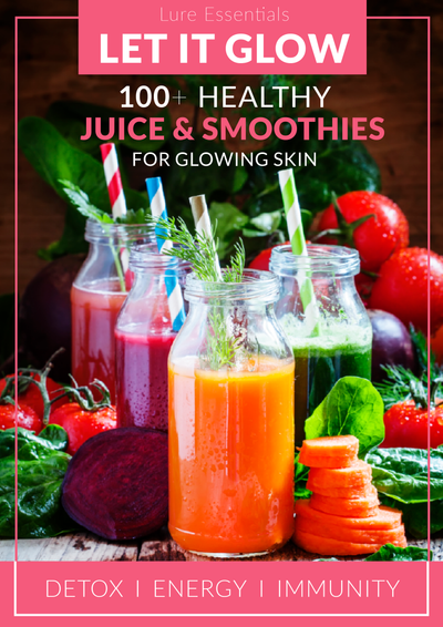 100+ Healthy Juice & Smoothie Recipes for Detox, Energy & Immunity - eBook