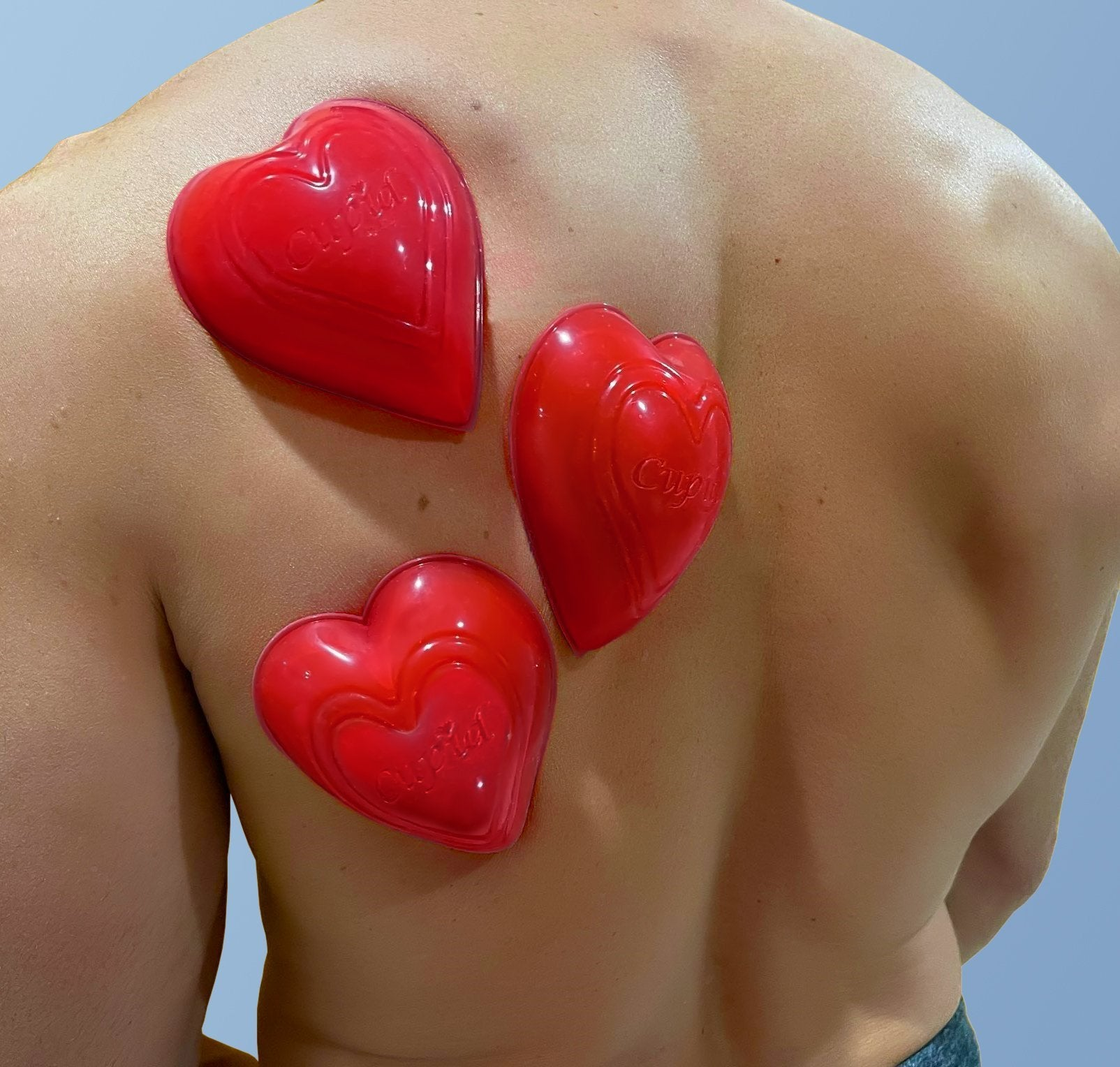 Cupid Heart-shaped Cupping Cups