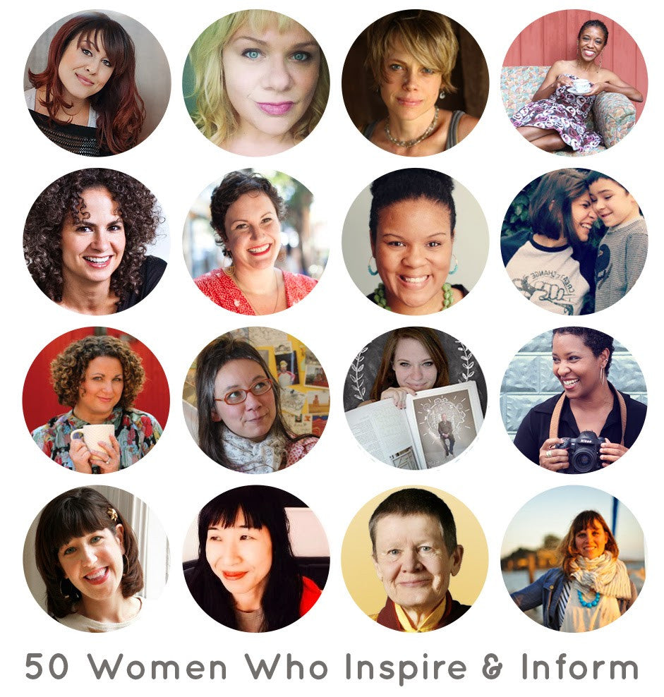Fifty Women Who Inspire & Inform