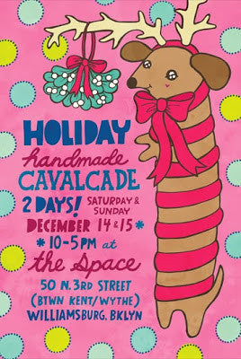 Shop Small and Handmade at the Holiday Handmade Cavalcade