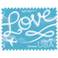 Love Skywriting Stamps