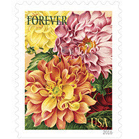 Botanical Art Stamps