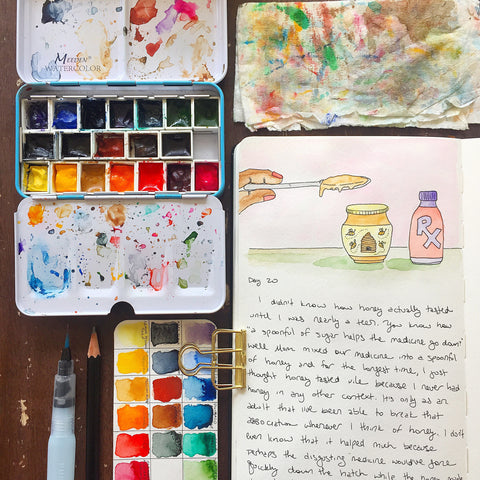 Intro to Watercolors 2