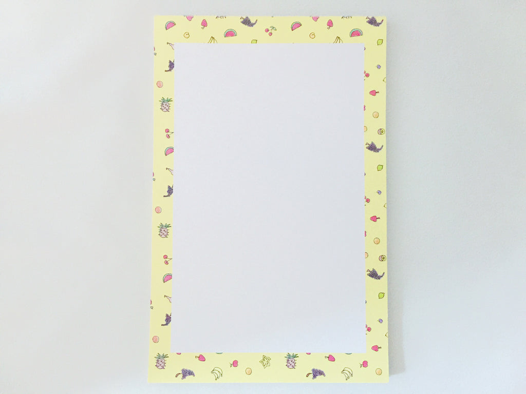 Juicy Fruits Notepad