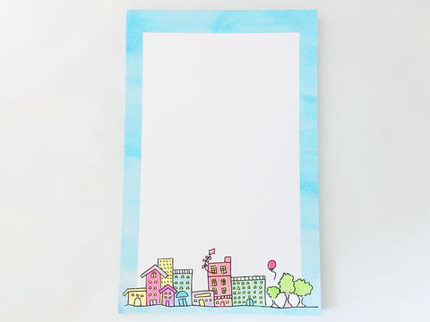 Little Town Notepad