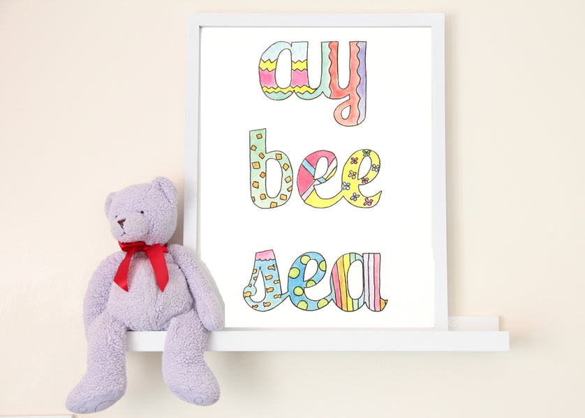 Ay Bee Sea Art Print