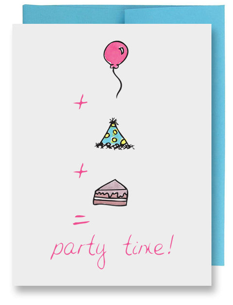 Birthday Math Card