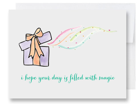 Magic Day Birthday Card