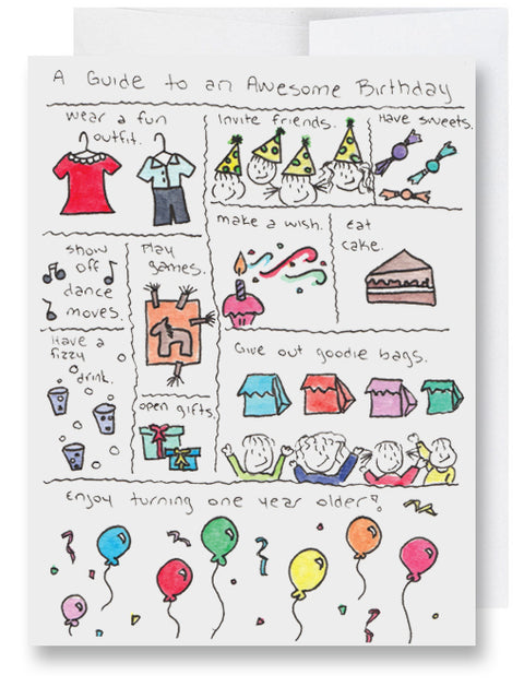 Birthday Guide Card
