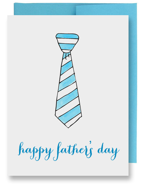 Blue Tie Father's Day Card