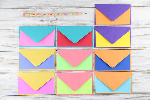 Colorful Mini Flat Notes