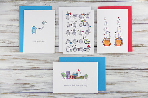 Friendship Cards Set