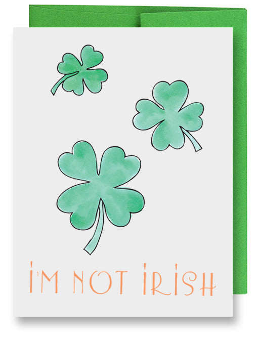 Irish Kiss Card