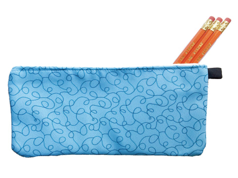 Sea Squiggles Pencil Pouch