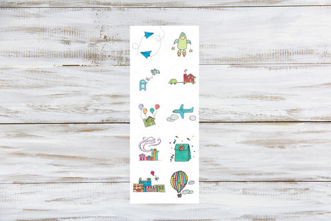 Send More Snail Mail Sticker Set