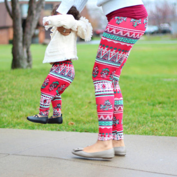 Mommy and Me Printed Leggings
