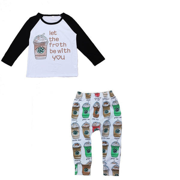 Let the Froth Be With You 2 pc Set