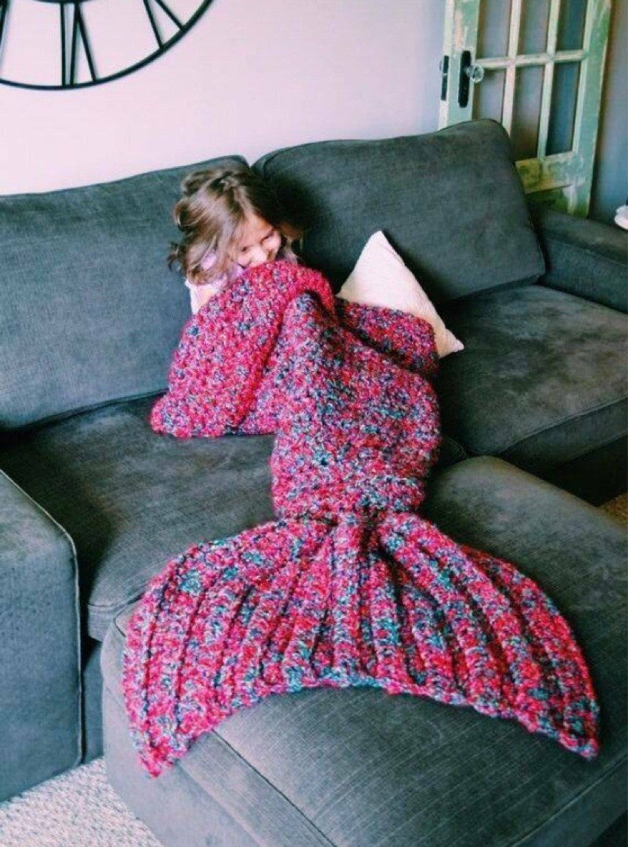 Wool Mermaid Blanket