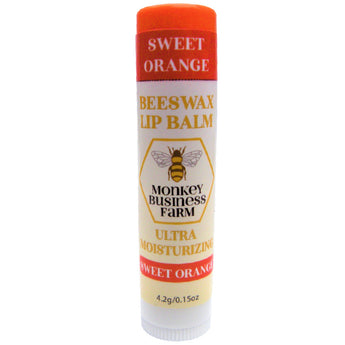 Sweet Orange Lip Balm - Monkey Business Farm