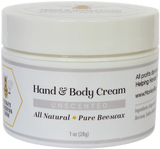 Hand & Body Cream (Unscented) - Monkey Business Farm