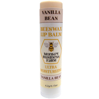 Vanilla Bean Lip Balm - Monkey Business Farm