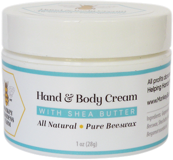 Hand & Body Cream with Shea Butter - Monkey Business Farm