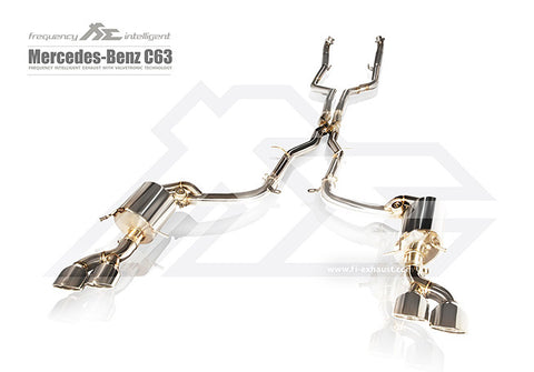FiE Mercedes Benz C63 W204 Performance Exhaust System