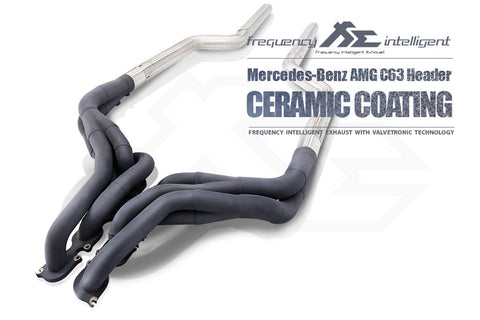 FiE Mercedes Benz C63 W204 Performance Long Tube Headers Exhaust System