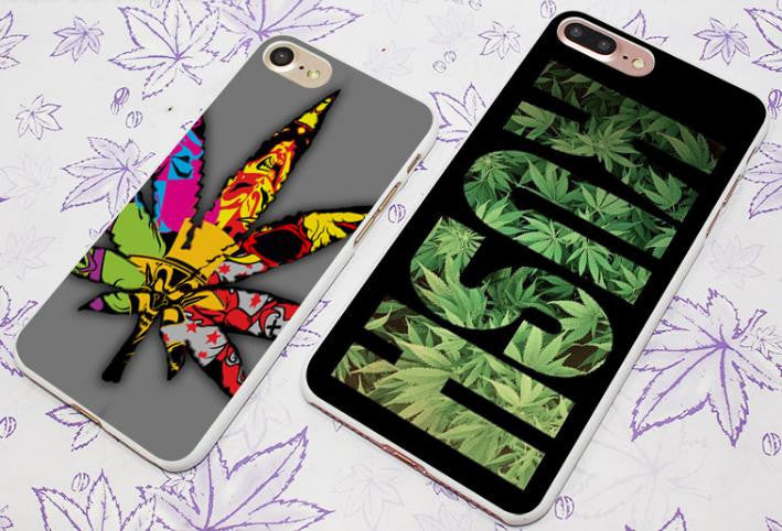 WEED ART iPHONE CASE