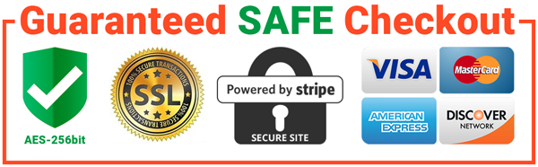 Safe and Secure Checkout Guaranteed