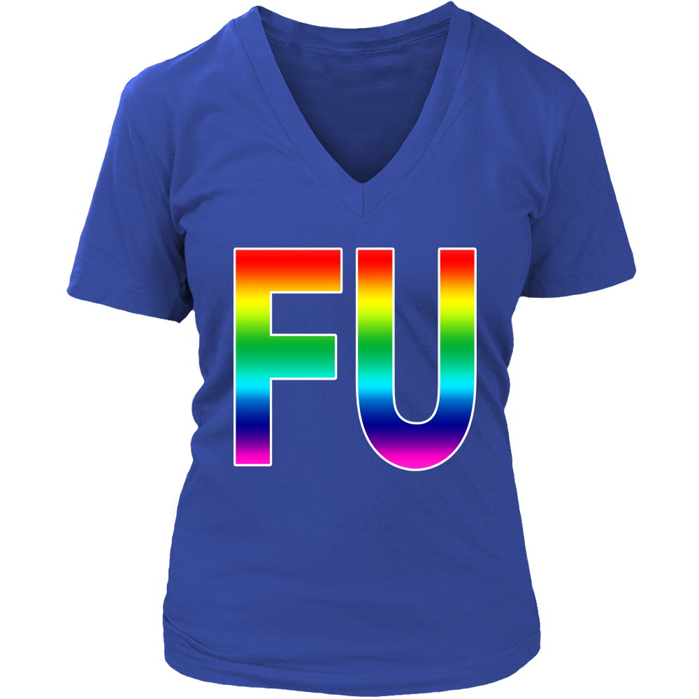 THE FU RAINBOW SHIRT