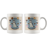 Husky Lovers Coffee Club Mug for Lovers of Huskies
