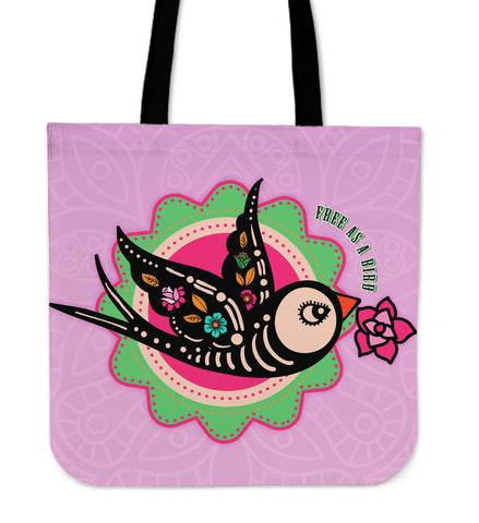 Free As A Bird Tote Bag