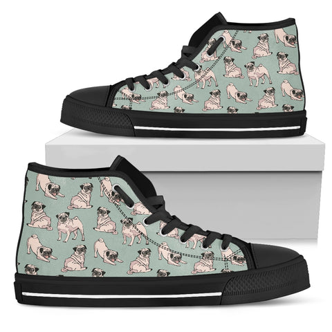 PUG HIGH TOP SHOES Men's High Top