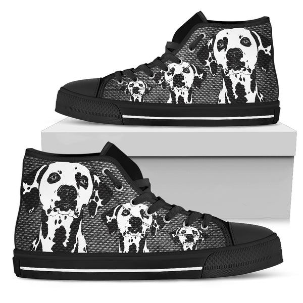 DALMATIAN HIGH TOP MEN