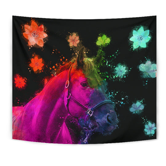 Beautiful Horse Tapestry for Lovers of Horses