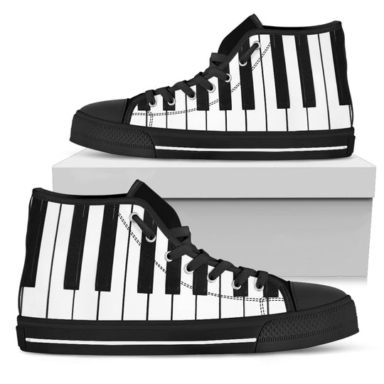 Piano Women's High Top