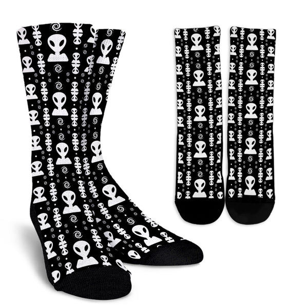 Aliens On My Mind Socks