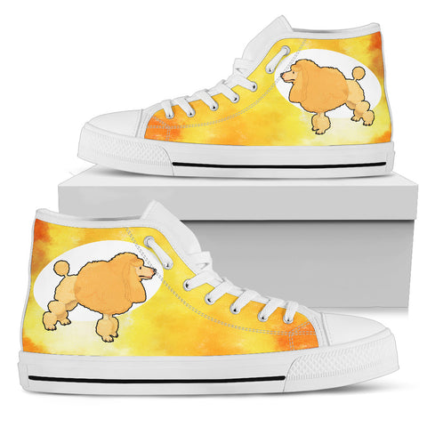 Poodle Shoes Women's High Top