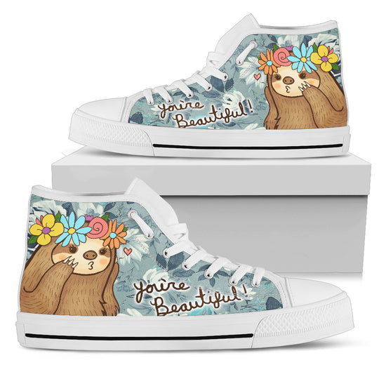Sloth Women's High Top