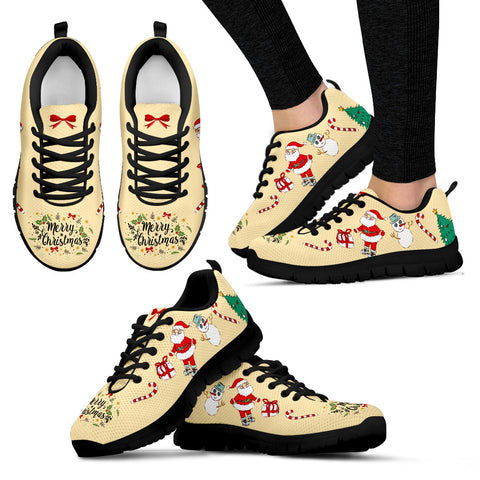 Merry Christmas Women's Sneakers