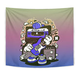 Amped Guitar Tapestry for Musicians and Music Freaks