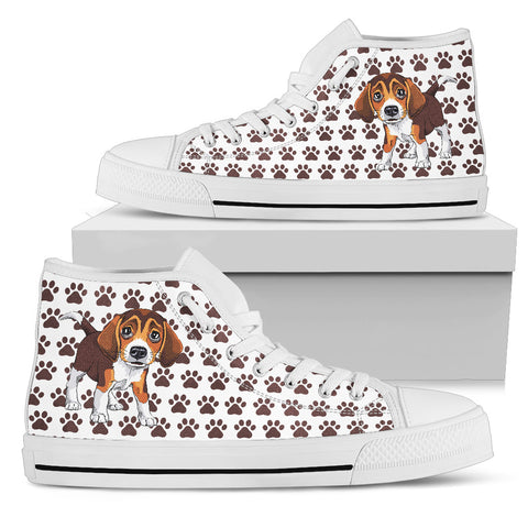 Beagle  Men's High Top