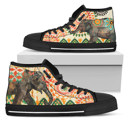 Elephant Women's High Top
