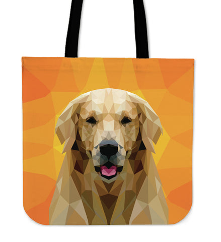 Labrador Retriever Dog Modern Art Tote Bag for Lovers of Labrador Retrievers