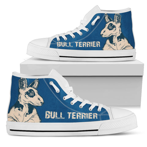 BULL TERRIER Women's High Top